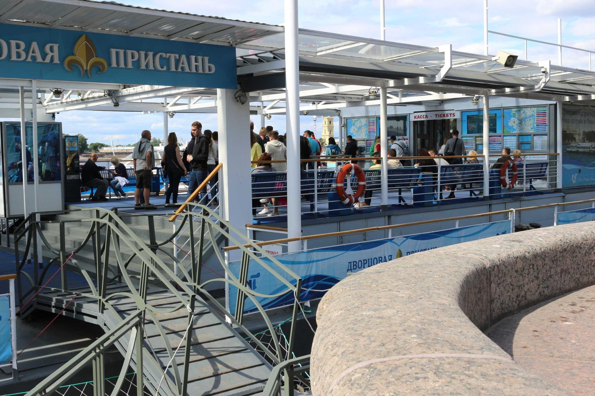 Билеты на Водные экскурсии в Питере от Эрмитажа